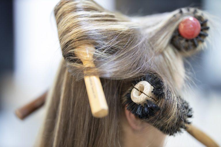 Brosse à cheveux vegan