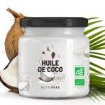 Huile de coco bio vegan de Nutripure